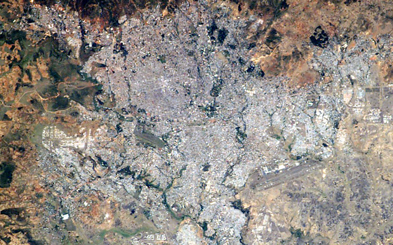 Addis Abeba Photo: NASA