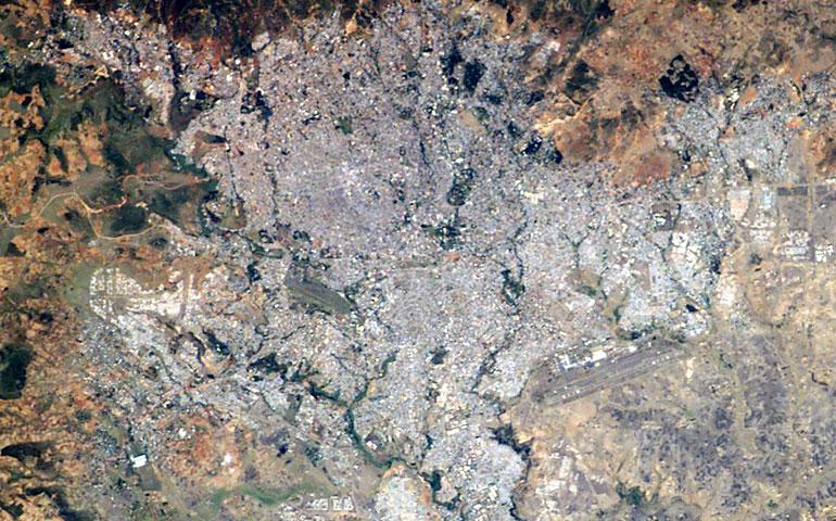 Addis Abeba Photo: NASA