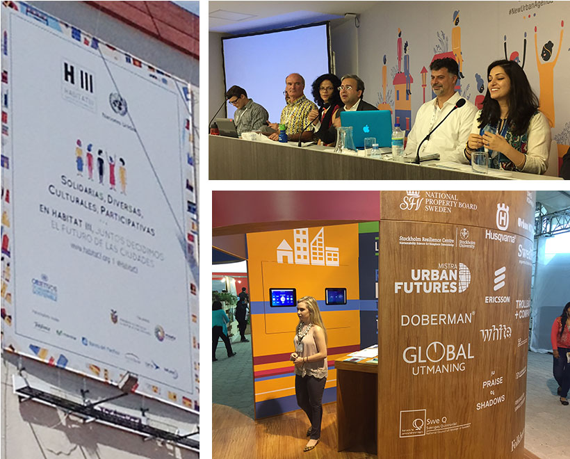 Pictures from Habitat III