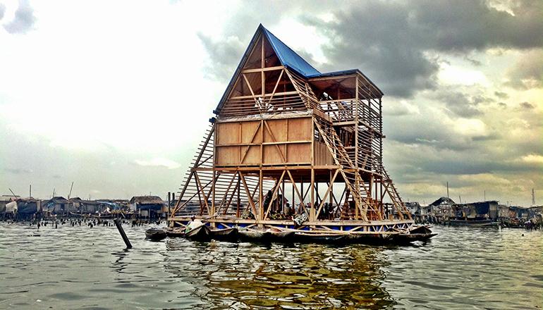 Makoko floating school by NLE Architects
