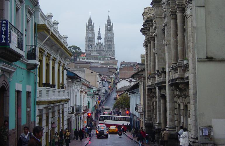 Quito Habitat III location Photo Martin Zeise