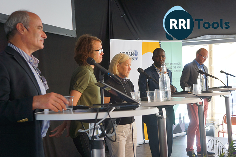 Almedalen meeting with citiesand policy-makers