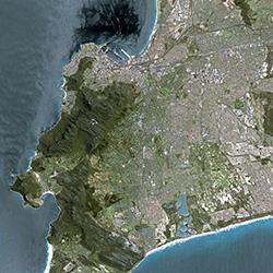 Cape Town photo CNES
