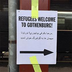 Mellanrum 27 april om flyktingar och stadsutveckling