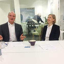 Karolina Skog visiting Mistra Urban Futures