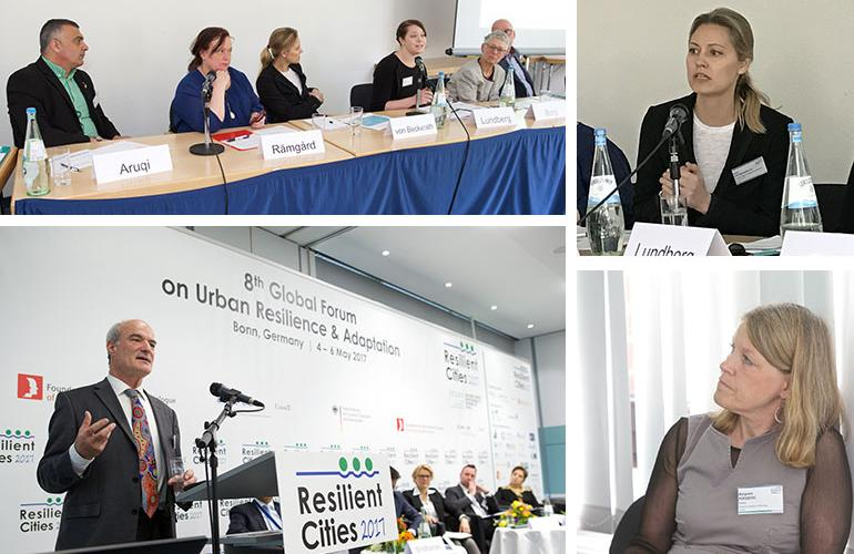 ICLEI Resilient Cities Mistra Urban Futures