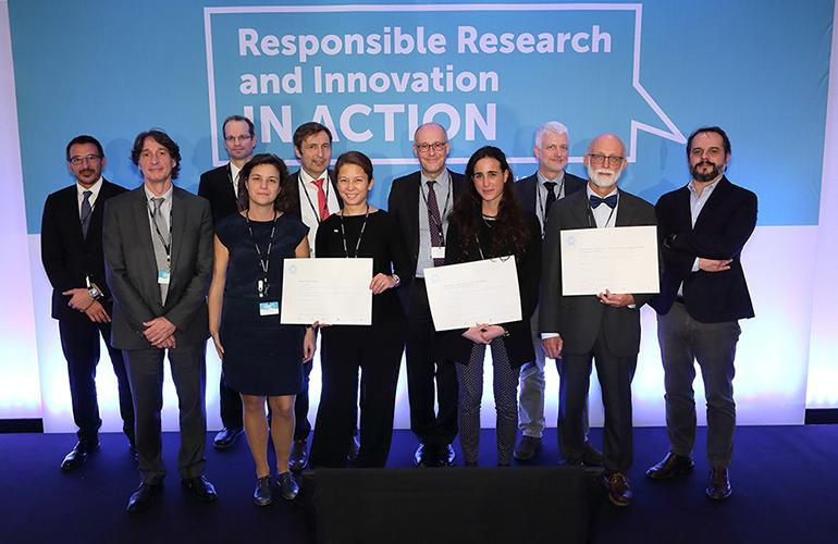 Mistra Urban Futures received the EFARRI Award