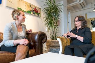 Alexandra Westin och Lisa Örberg
