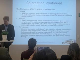 Presentation by the Stockholm Node