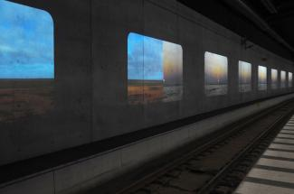 Tania Ruiz Gutierrez Malmö Central Station Tunnel