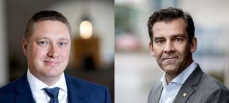 Mattias Goksör och Fredrik Hörstedt