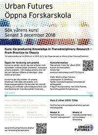 Kursblad Forskarskolan våren 2019