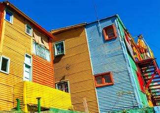 La Boca i Buenos Aires, en av de städer som deltar i projektet