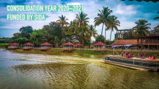 City of Kisumu from Lake Victoria - hosting this webinar