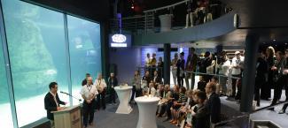 Welcome reception at Two Oceans Aquarium.