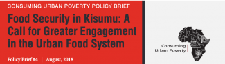 Consuming Urban Poverty Policy Briefs