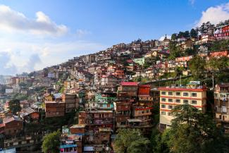 Shimla India Mistra Urban Futures