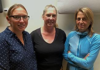 Three belgian researchers Vanthuyne, Greet De Brauwere and An Lescrauwaet